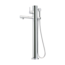 Bath faucet, floor...