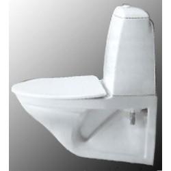 Toilet bowl hanging IFO...