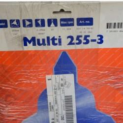 """Multi 255-3 x 1""""..."""